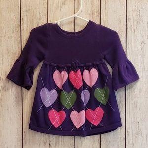 Gymboree sweater tunic 3-6 months